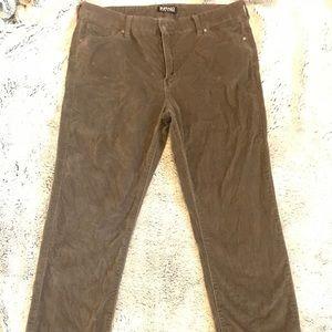 Buffalo David Bitton stretch velvet skinny jeans